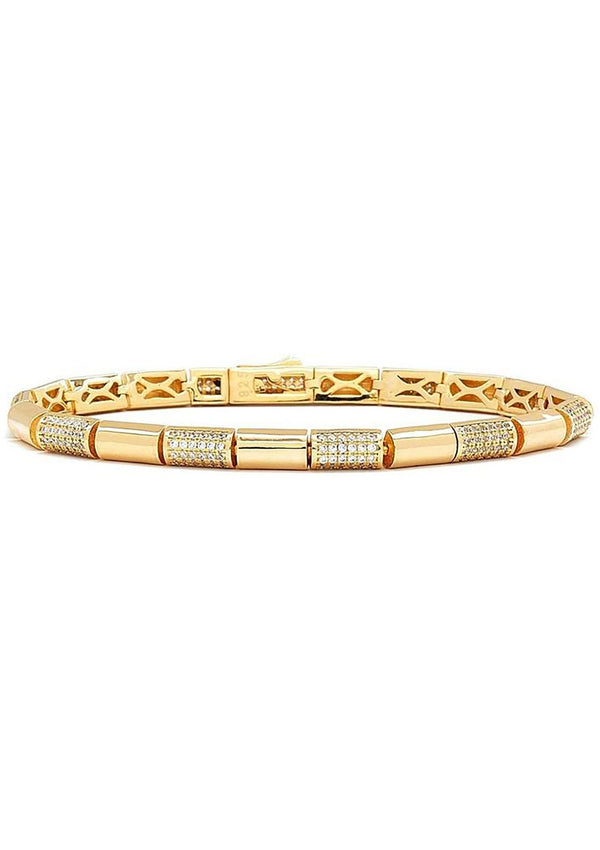 Eternal Link Gold Bracelet - L'Atelier Global