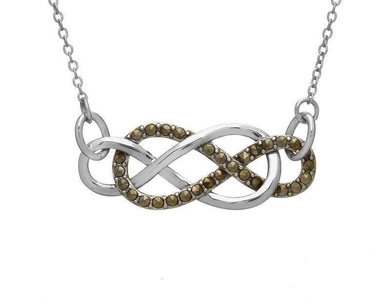 Infinity Celtic Knot Necklace - L'Atelier Global
