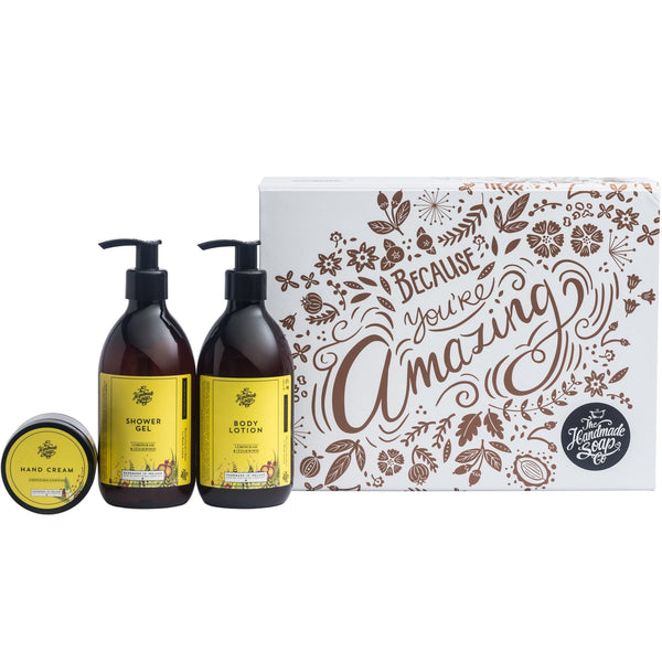 Lemongrass & Cedarwood Because You're Amazing Gift Set - L'Atelier Global