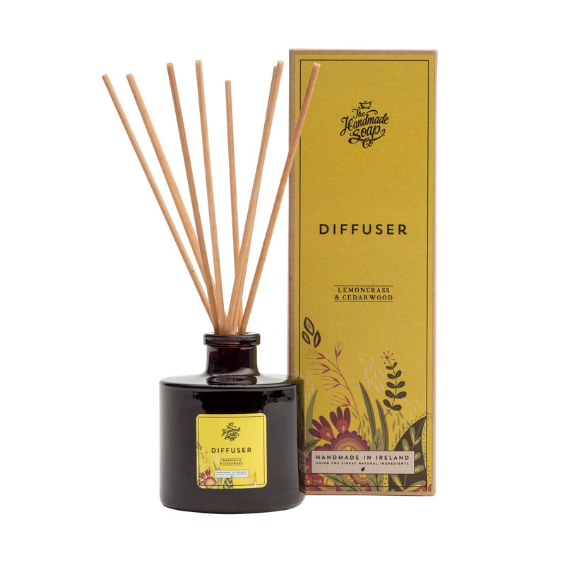 Lemongrass & Cedarwood Reed Diffuser - L'Atelier Global