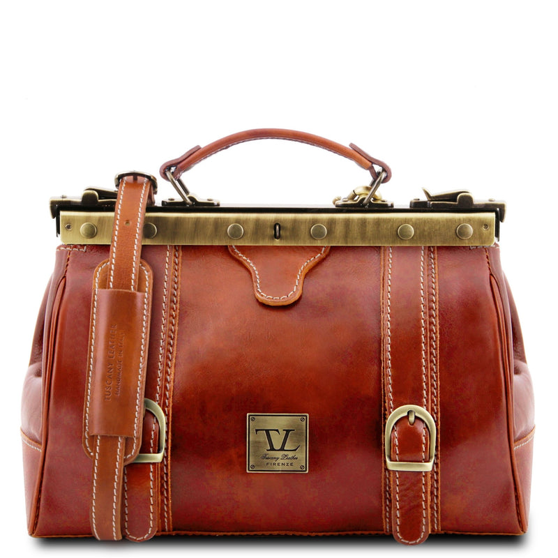 Monalisa Doctor Gladstone Bag with Front Straps - L'Atelier Global