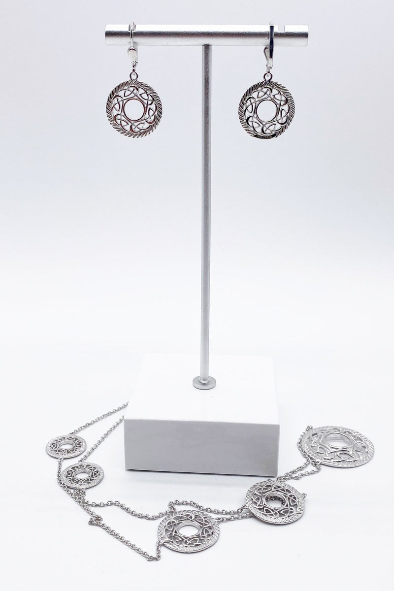 Open Knot Sterling Silver Earrings - L'Atelier Global