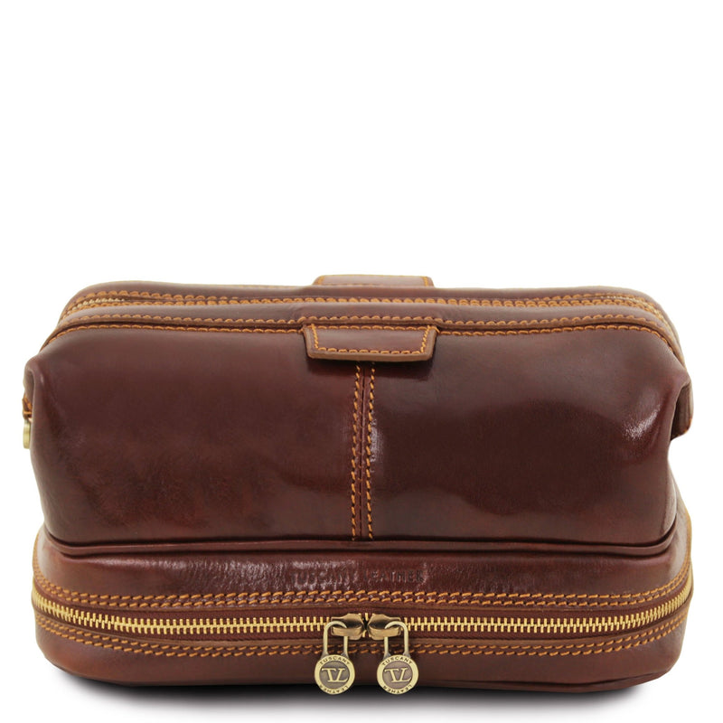 Patrick Leather Toilet Bag - L'Atelier Global