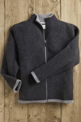 Scottish Borders Wool Fleece Cardigan - L'Atelier Global