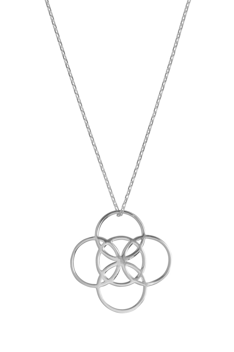 Serenity Silver Necklace - L'Atelier Global