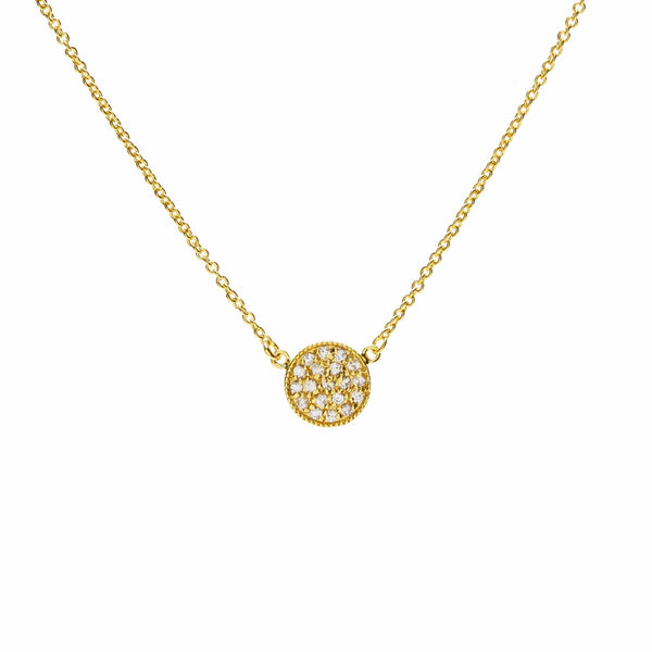 Signature Gold Pave Necklace - L'Atelier Global