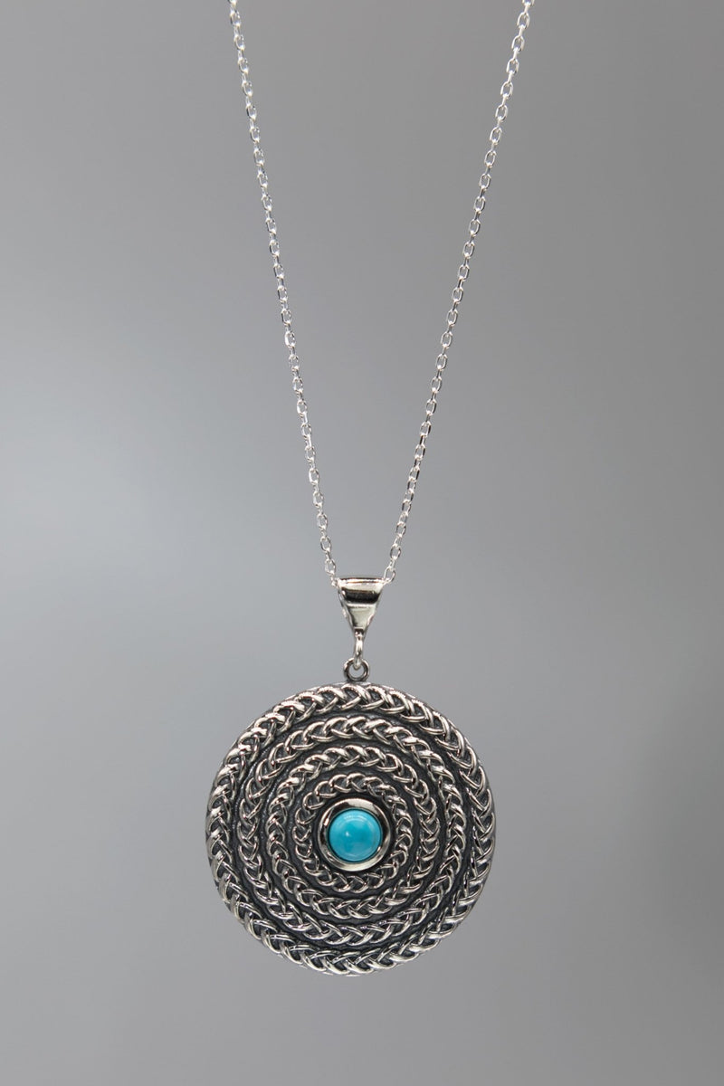 Sleeping Beauty Turquoise Necklace - L'Atelier Global