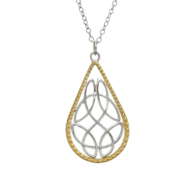 Trinity Reversible Pendant Necklace - L'Atelier Global