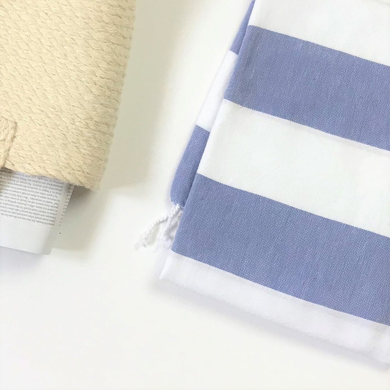 Turkish Aegean Cotton Cabana Towel - L'Atelier Global
