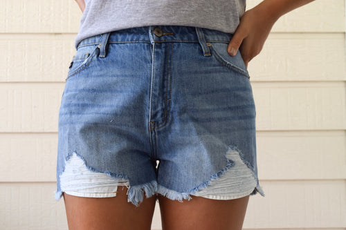 Lane Denim Shorts