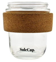 Load image into Gallery viewer, The Original SoleCup with Cork Band - 12oz Reusable Coffee Cup