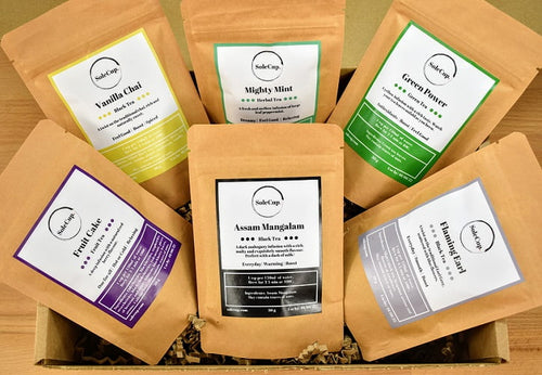 6 Piece Loose Tea Gift Set