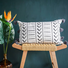 Load image into Gallery viewer, Uma Rectangular Recycled Cotton Cushion Cover