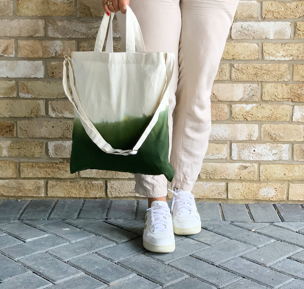 Burano Ombre Recycled Cotton Tote Bag