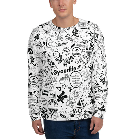 VKD Sweatshirt - Joyful Doodle (Light)
