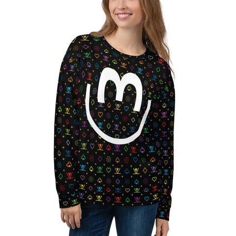 VKD Sweatshirt - Smile Big (Rainbow)