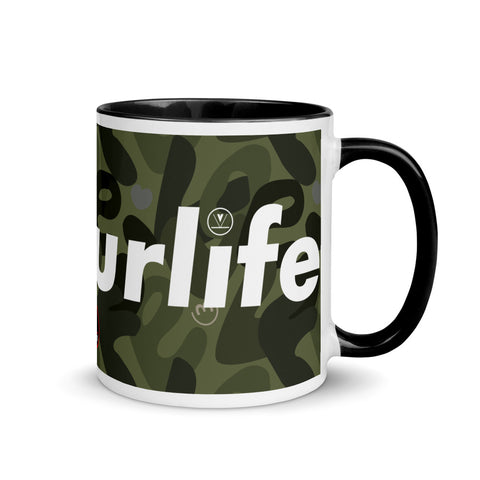VKD Mug - v3yourlife (Camo - Green)