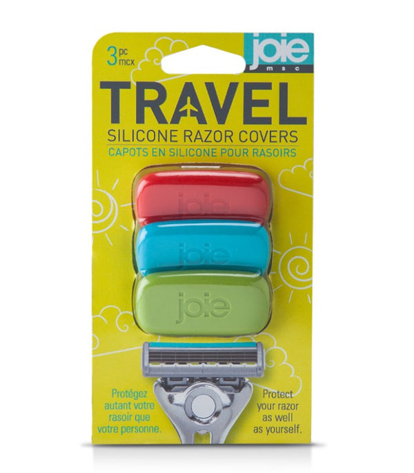Travel - Silicone razor covers 3 pc Cards