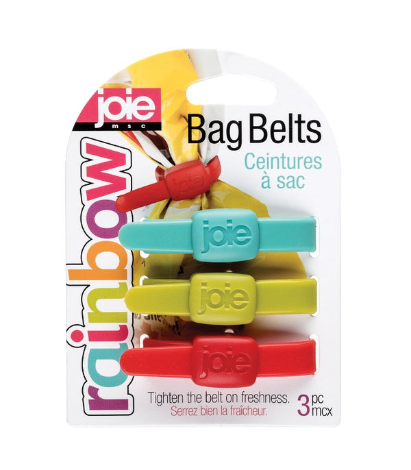 Rainbow Bag Belts - 3 pc
