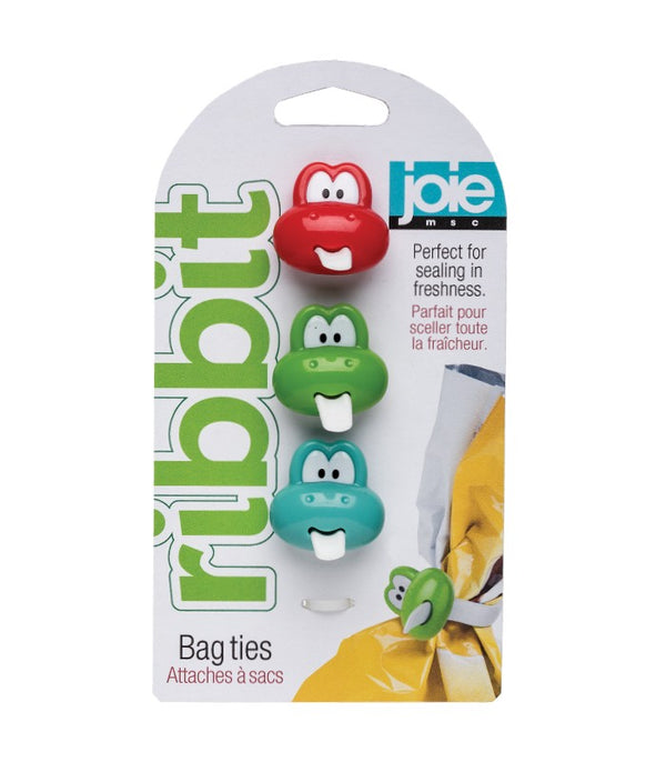 Ribbit - Bag ties - 3 pc