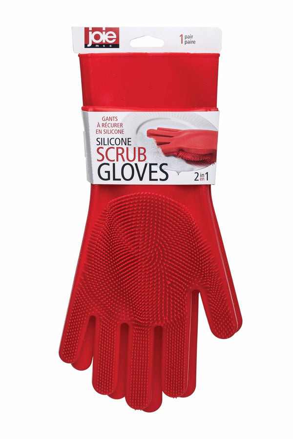 Silicone Scrub Gloves