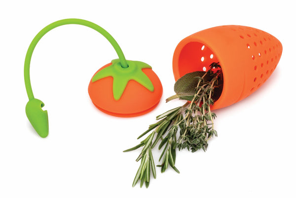 Carrot Silicone Herb Infuser