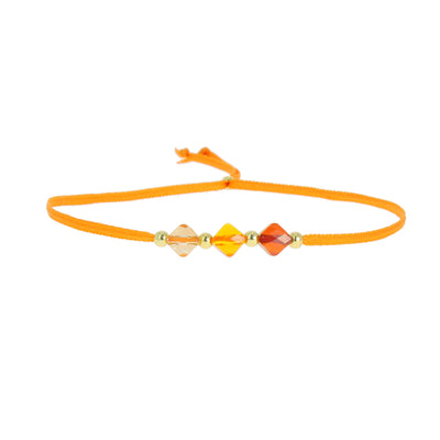 Bracelet arthritis orange