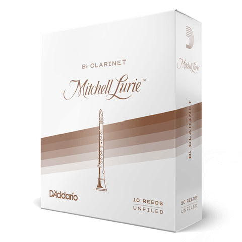 Mitchell Lurie Bb Clarinet Reeds - #4.5, Box of 10