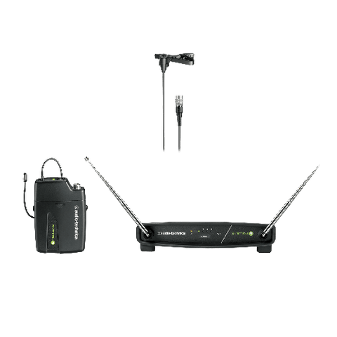 Audio-Technica ATW-901A/L System 9 Series Wireless Lavalier Microphone System