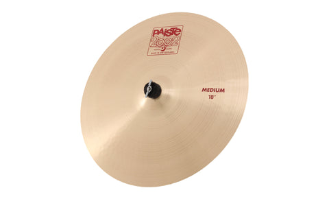 "Paiste 18"" 2002 Medium Crash Cymbal - New,18 Inch"
