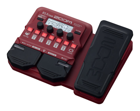 Zoom B1x Four Multi-Effects Bass Pedal w/ Expression