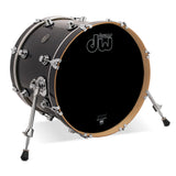 "Drum Workshop 18"" x 14"" Performance Series Bass Drum - Ebony Stain - New,Ebony Stain"