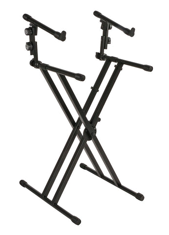 Quik Lok QL-642 Heavy Duty Two Tier Keyboard Stand