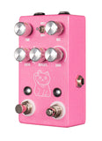 JHS Pedals Lucky Cat Delay Pedal - Pink - New,Pink