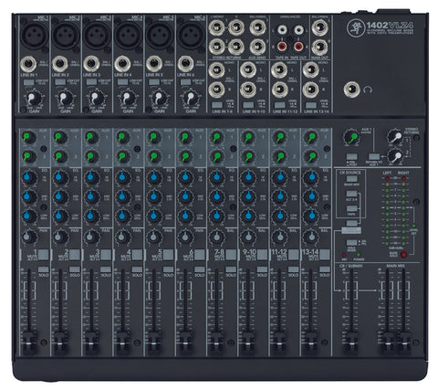 Mackie 1402VLZ4 14 Channel Compact Analog Mixer