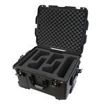 Gator Cases Titan Case For Rodecaster Pro, 4 Mics & 4 Headsets