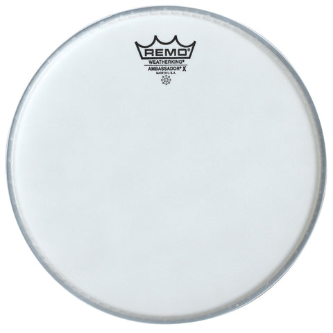 "Remo 8"" Coated Ambassador X Drum Head - New,8 Inch"