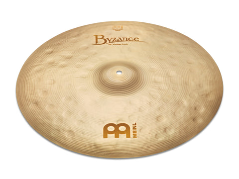 "Meinl 22"" Byzance Vintage Crash Cymbal - New"