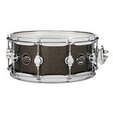"Drum Workshop 14"" x 5.5"" Performance Series Maple Snare Drum - Pewter Sparkle - New,Pewter Sparkle"
