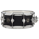 "Drum Workshop 14"" x 5.5"" Performance Series Maple Snare Drum - Ebony Stain - New,Ebony Stain"