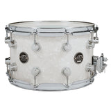 "Drum Workshop 14"" x 8"" Performance Series Maple Snare Drum - White Marine - New,White Marine"