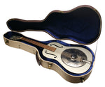 Gator Cases GW-JM RESO Deluxe Wood Case For Resonator Guitars - Journeyman Burlap Exterior