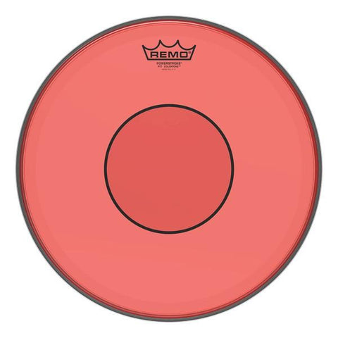 Remo Powerstroke 77 Colortone Drumhead - Red - New,13 Inch