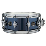 "Drum Workshop 14"" x 5.5"" Performance Series Maple Snare Drum - Chrome Shadow - New,Chrome Shadow"