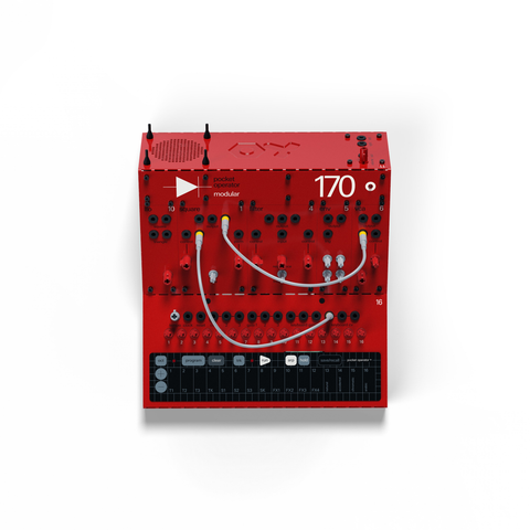 Teenage Engineering PO Modular System 170 Analog Monosynth and Sequencer
