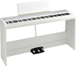 Korg B2SP 88-Key Digital Keyboard w/Stand - White - New,White