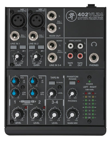 Mackie 402VLZ4 4 Channel Ultra-Compact Mixer