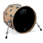 "Drum Workshop 18"" x 14"" Performance Series Bass Drum - Natural - New,Natural"