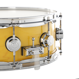 "DW 14"" x 5"" Collector Series Santa Monica Snare Drum - Butterscotch with Chrome Hardware"