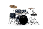 Mapex Rebel 5-Piece Junior Complete Drum Set Royal Blue - New,Royal Blue